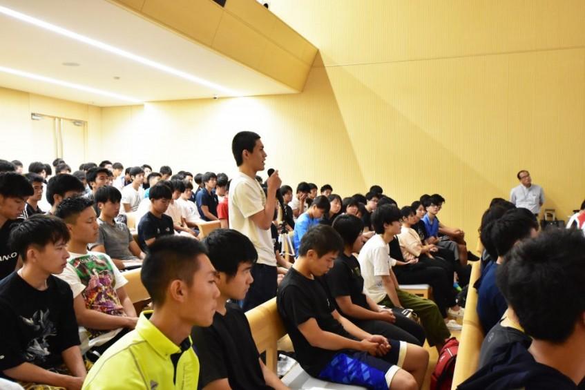 IPU・環太平洋大学 元サッカー日本代表石川直宏氏来校「スポーツの文化的価値」を考える!